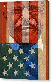 Teddy Roosevelt Acrylic Print
