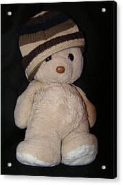 Teddy Wants To Hug You Acrylic Print by Catherine Ali