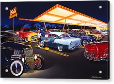 Teds Drive-in Acrylic Print