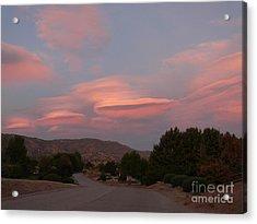 Tehachapi Skies Acrylic Print by Jacquelyn Roberts