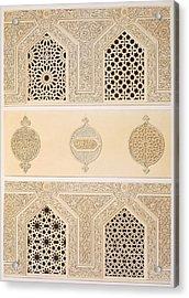 Tekih Cheik Hacen Sadaka, Ie Funerary Acrylic Print