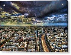 Tel Aviv Blade Runner Acrylic Print