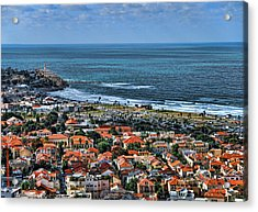 Acrylic Print featuring the photograph Tel Aviv Spring Time by Ron Shoshani