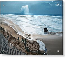 Acrylic Print featuring the painting Tel-aviv by Susan Roberts