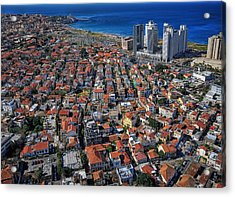 Acrylic Print featuring the photograph Tel Aviv - The First Neighboorhoods by Ron Shoshani