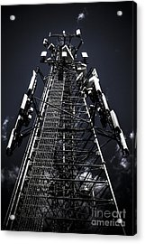 Telecommunications Tower Acrylic Print by Jorgo Photography - Wall Art Gallery