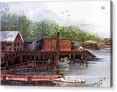 Telegraph Cove Acrylic Print