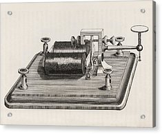 Telegraph Relay Device Acrylic Print by King's College London