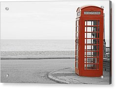 Telephone Booth Acrylic Print