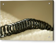 Telephone Cord Acrylic Print by Celso Diniz
