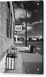 Telephone Museum Acrylic Print by John Bushnell