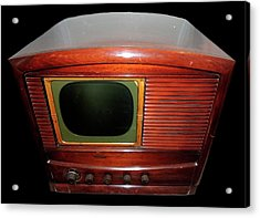 Television Manufactured By Philco Acrylic Print by Universal History Archive/uig