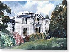 Tellico Johnson Mansion  Acrylic Print
