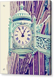Telling Time Acrylic Print