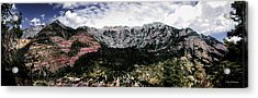 Telluride From The Air Acrylic Print