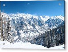 Telluride Snowscape Acrylic Print