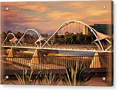 Tempe Pedestrian Bridge Acrylic Print