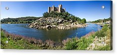 Templar Castle Of Almourol Acrylic Print by Jose Elias - Sofia Pereira