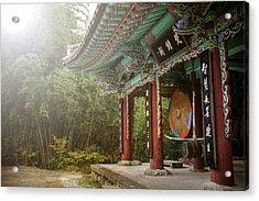Temple Drum Acrylic Print