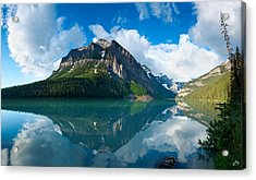 Temple Mountain Acrylic Print