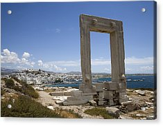 Temple Of Apollo Acrylic Print by Jim  Wallace