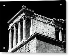 Temple Of Athena Nike Acrylic Print by John Rizzuto