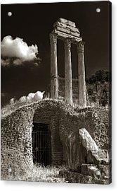 Temple Of Castor And Polux Acrylic Print