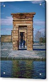 Temple Of Debod II Acrylic Print by Joan Carroll