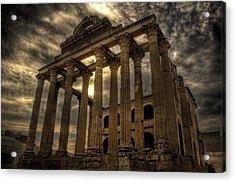 Temple Of Diana Acrylic Print