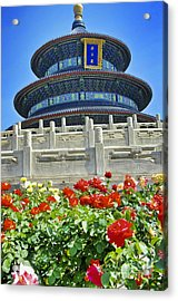 Temple Of Heaven  Acrylic Print by Sarah Mullin