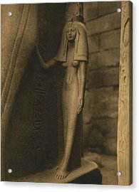 Temple Of Luxor Acrylic Print