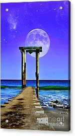 Temple Of The Atlantic Acrylic Print