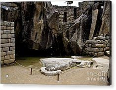 Temple Of The Condor Acrylic Print