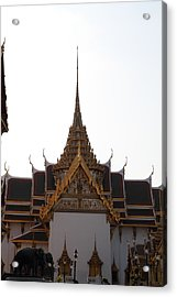 Temple Of The Emerald Buddha - Grand Palace In Bangkok Thailand - 011315 Acrylic Print by DC Photographer