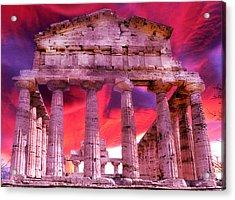 Temple Of The Gods Acrylic Print