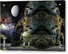 Temple Of The Mind Acrylic Print