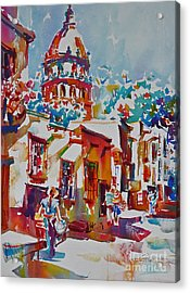 Temple Of The Nuns Acrylic Print