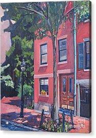 Temple Street Beacon Hill Acrylic Print