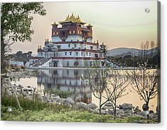Temple Wuxi China Color Acrylic Print