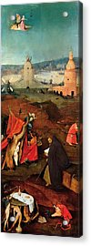 Temptation Of Saint Anthony - Right Wing Acrylic Print by Hieronymus Bosch