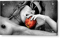 Temptations Acrylic Print by Tbone Oliver