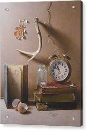 Tempus Fugit Acrylic Print by Timothy Jones