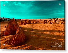 Acrylic Print featuring the photograph Ten Thousand Years by Julian Cook