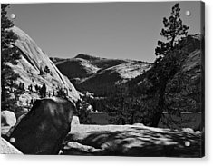 Tenaya Lake In Yosemite Acrylic Print