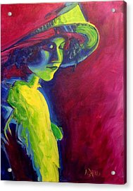 Acrylic Print featuring the painting Tender Moment by Arlene Holtz