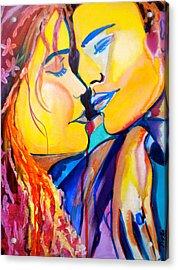 Tender Moment Acrylic Print by Debi Starr