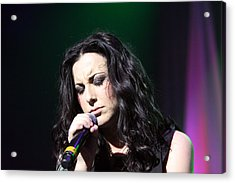 Tender Moments On Stage Acrylic Print by Shoal Hollingsworth