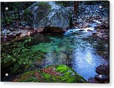 Teneya Creek Yosemite National Park Acrylic Print by Scott McGuire
