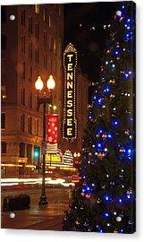 Tennessee Christmas Acrylic Print