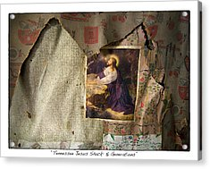 Tennessee Jesus Shack Five Generations Acrylic Print by James Neiss